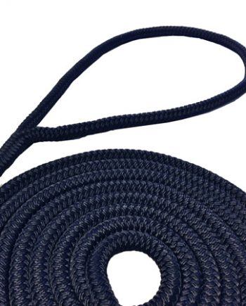 allpa 16-Voudig gevlochten fenderlijnen met handgemaakte oogsplits 6mm blauw