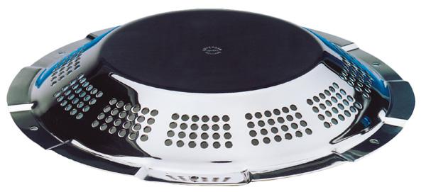 """allpa RVS Dekventilator """" UFO"""", Ø240mm, gatmaat Ø123mm"""