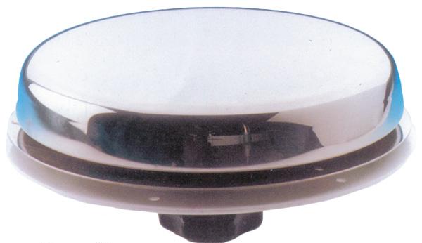"""allpa RVS Dekventilator """"Paddestoel"""", Ø150mm, Ø123mm"""