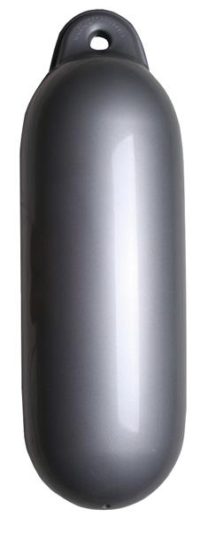 allpa Dropfender, Ø120mm, L=450mm, zilver (maat 1) (opblaasbaar met kogelventiel)