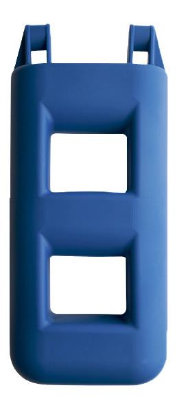 allpa Ladderfender 2-treeds, 250x120x550m, 3,0kg, blauw