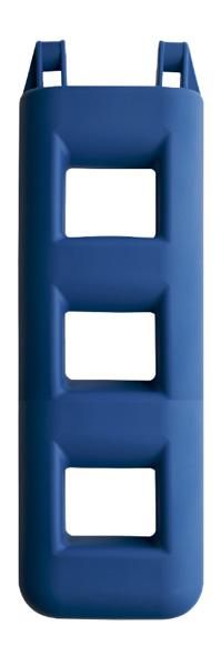 allpa Ladderfender 3-treeds, 250x120x750m, 4,0kg, blauw