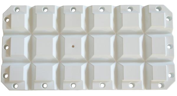 allpa Multifender, 600x300x80mm, 3,0kg, wit