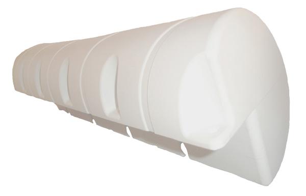 allpa Dockfender, 1100x240x240mm, 6,0kg, wit (maat 2)