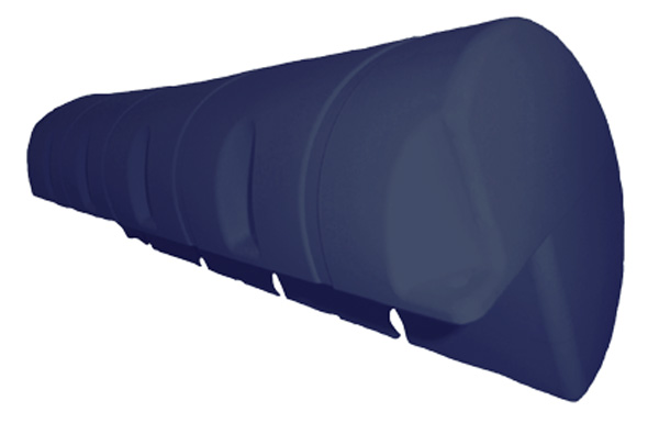 allpa Dockfender, 1000x190x190mm, 3,6kg, blauw (maat 1)
