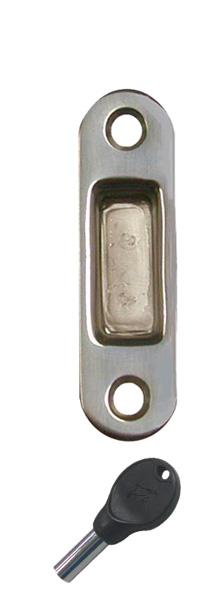 allpa RVS Sluitplaat, 70x19x6mm