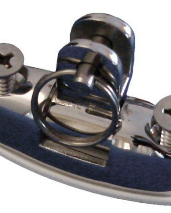 allpa RVS dekfitting met schroeven, borstbout en nylon voet