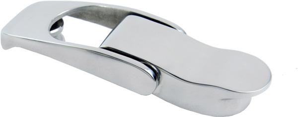allpa RVS Bakkist-spansluiting, A=82mm, B=25mm, C=15mm