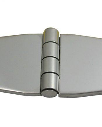 allpa RVS Afgedekt scharnier verzonken, 76,2x37x2mm