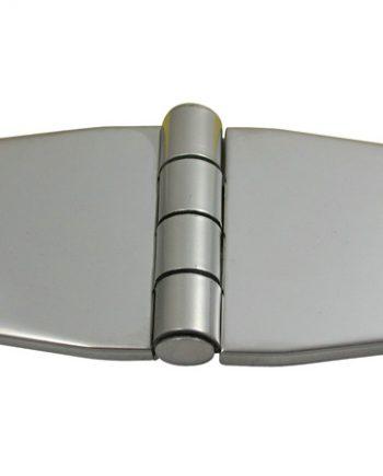 allpa RVS Afgedekt kastdeurscharnier,, 76,2x37x2mm