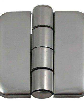 allpa RVS Afgedekt kastdeurscharnier, 37x36x2mm