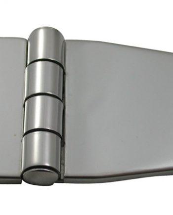 allpa RVS Afgedekt kastdeurscharnier, 56x37x2mm