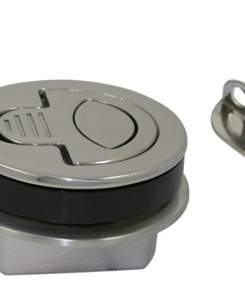 allpa RVS Luiksluiting met draaigreep en nylon huis A=4-13mm, B=25mm, C=61mm, D=50mm