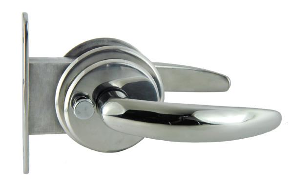 allpa RVS Magnetische deursluiting, deurdikte 19-25,4mm