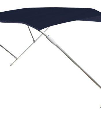 allpa zonnetent model Wilma, blauw, 180x150x110cm, aluminium beugels