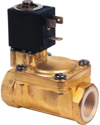 """allpa Magneetklep, 3/4"""", 24V / 6W, doorlaat √ò18mm, 0,35-12bar (in rust gesloten)"""