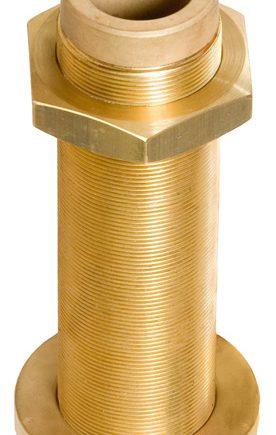 Allpa Bronzen hennegatskoker voor roerkoning D=30mm, L=283mm