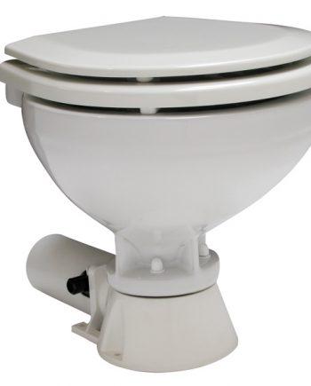 allpa AquaT standard-electric scheepstoilet, 24V/7A, compact pot met bedienpaneel
