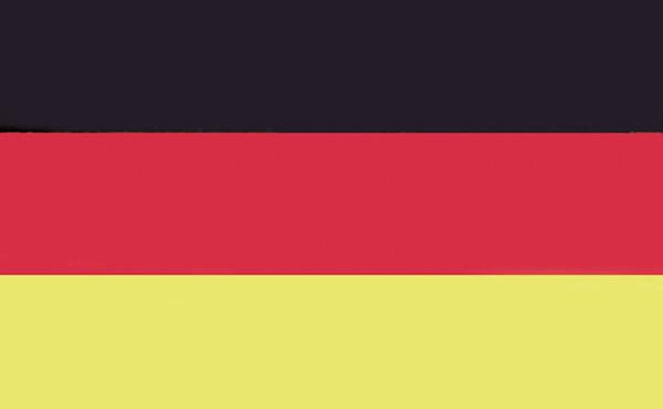 allpa Duitse vlag 20x30cm