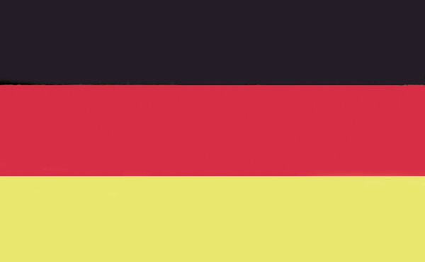 allpa Duitse vlag 30x45cm