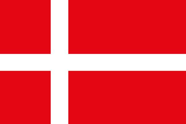 allpa Deense vlag 20x30cm