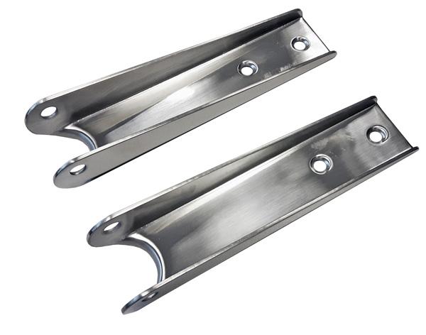 allpa RVS Scharnieren voor zwemplateau-ladder (set van 2 stuks), max. buis √ò32mm