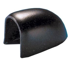 ABS-eindstuk voor PVC-Stootlijst L-5  Zwart