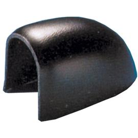 ABS-eindstuk voor PVC-stootlijst L-3 Zwart