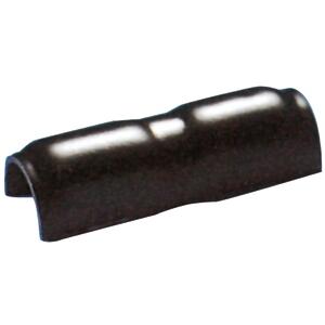 ABS-verbindingsstuk voor PVC Stootlijst L-3  Zwart