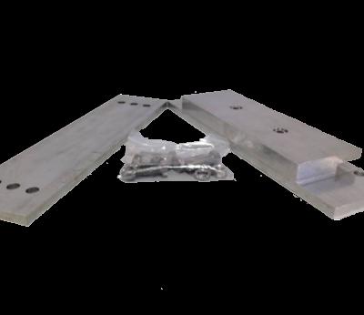 Zinken Romp-Anoden met Strip voor Boutmontage ( HZ )