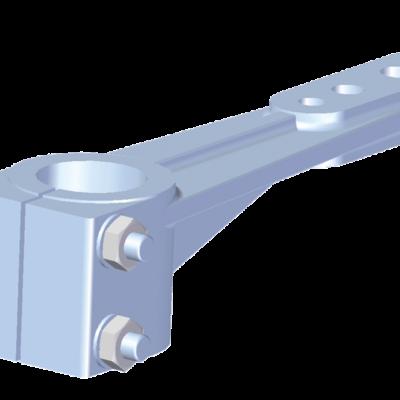 Allpa aluminium roerarmen