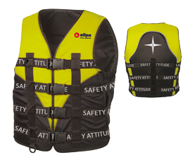Allpa Reddingsvest model Racing Maat XL >80 kg 80 N