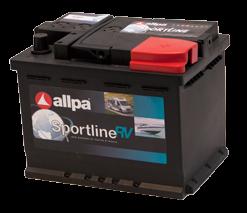 Allpa sport AGM Accu 12V  60Ah