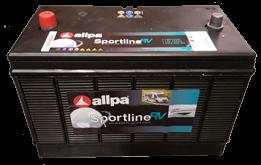 Allpa sport  Accu 12V  105Ah