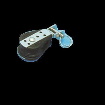 (C) allpa Kunststof enkelschijfsblok (met wartel)