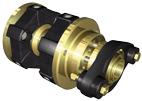 Centaflex Flexibele Schroefaskoppeling met Stuwdruklager  model AGM-140  max. 1875Nm (plezier)