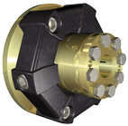 Centaflex koppeling  AM-140 1.2  max. 1875Nm (plezier)  D=63 5mm  Tk=108mm  Z=8x45º  M=M10