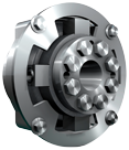 Centaflex koppeling  model M-160 3.5 (zakje tapeind)  max. 500Nm (plezier)