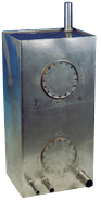 Drink/vuilwatertank RVS 225ltr L 125 x B 40 x H 45 cm