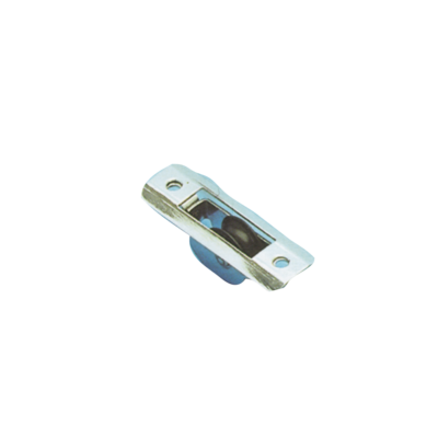 (E) allpa RVS doorvoerblok enkelschijfs