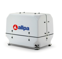 Generator Paguro 5500 SY 5.0kVA 4.5kW@3000 RPM   Lucht/Watergekoeld+geluiddichte kast