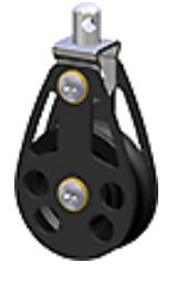 Giekblok  12mm - Lijn D.55mm