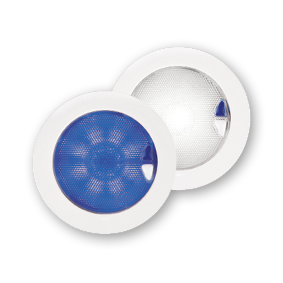 Hella Euroled 150 wit/blauw