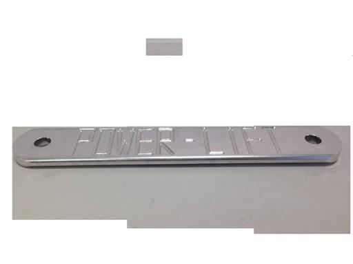Hydr.power Spiegelcontraplaat Onderzijde 300(250)x50x9 5mm -M14