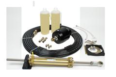 Hydraulische Stuurset 30kgm incl.pomp/ Cil./ Fittings/olie