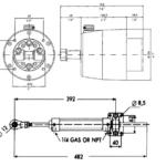 Hydraulische-Stuurset-50kgm-incl.pomp-Cil.-Fittingsolie-Teleflex-hvhbootonderdelen-1