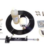 Hydraulische Stuurset 50kgm incl.pomp/ Cil./ Fittings/olie (Teleflex)