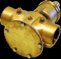JP bronzen impellerpomp F8B-8  279l/min  binnendraad 1-1/2  voetmontage / pulley-aandrijving