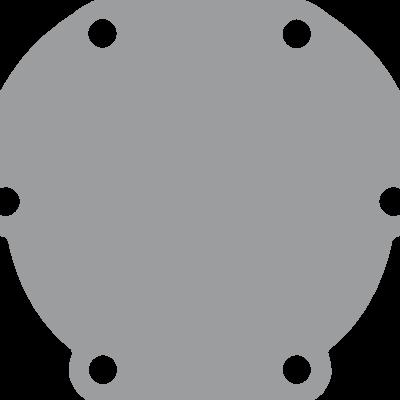 Johnson Pomp bronzen deksel voor pomp F4 (vervangt Jabsco 29475)