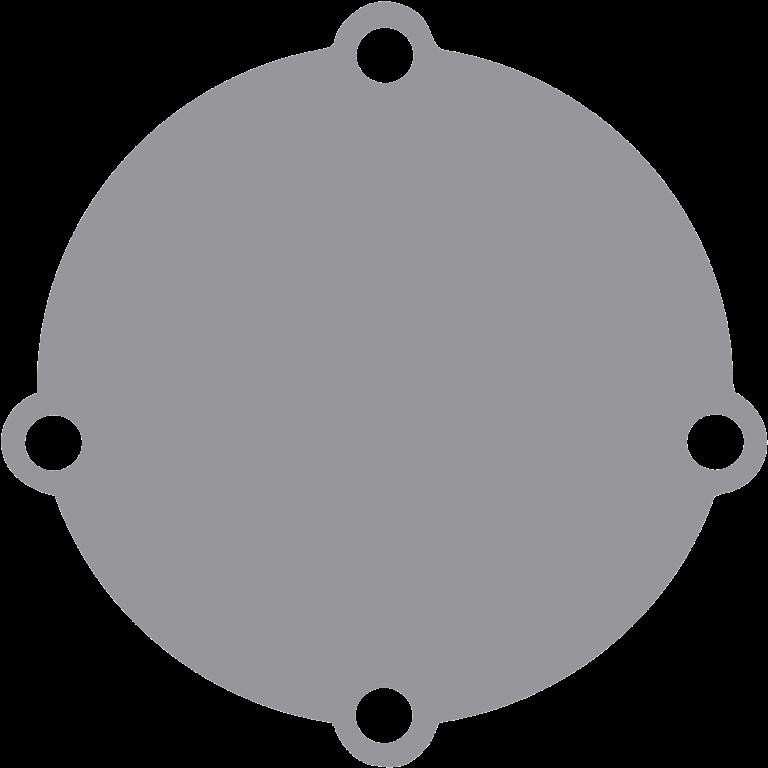 Johnson Pomp bronzen deksel voor pomp F5/F6